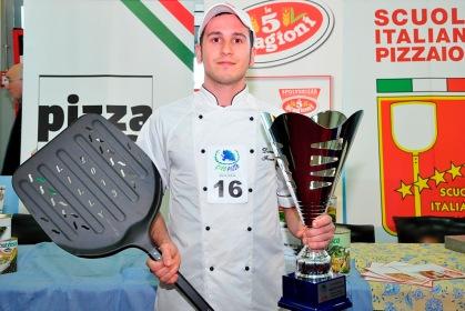 Daniel Favero vincitore campionato pizza