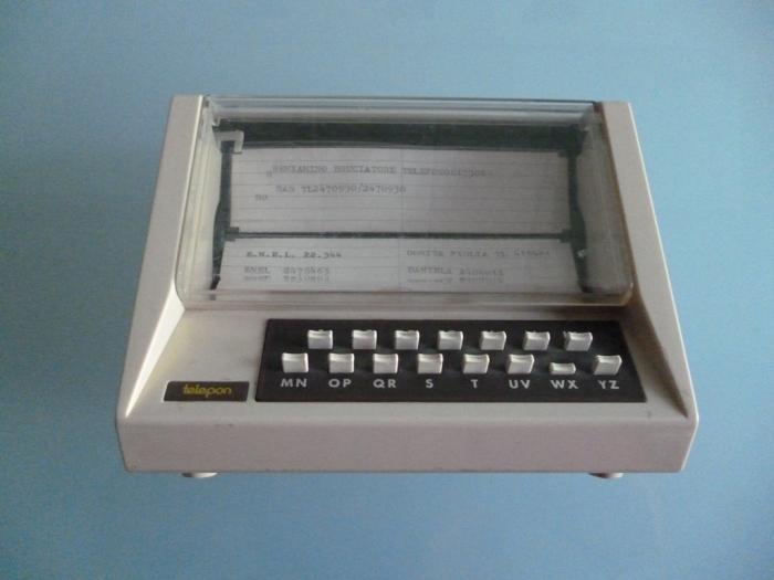 Una rubrica telefonica vintage