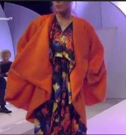 cappotto arancio