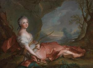 J-M. Nattier, Adelaide di Francia come Diana